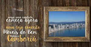 Loja conceito Móveis do Bem Balneário Camboriú.