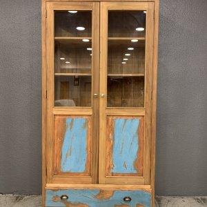 cristaleira meia porta