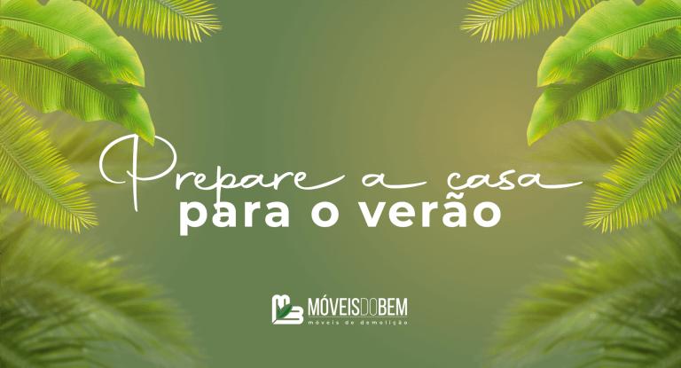 imagem com fundo verde e folhas de palmeira ao redor com texto centralizado